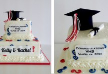 Red, White & Blue Graduation