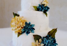 Blue and Yellow Rustic