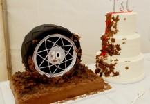 Muddy Tire Wedding