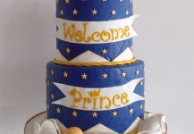 Navy and Gold Prince