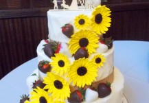 Sunflowers & Strawberries